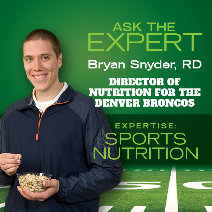 Bryan Snyder, Denver Broncos, Director of Nutrition