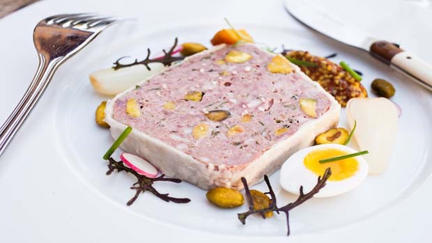 Country Pork Pate with Pistachios