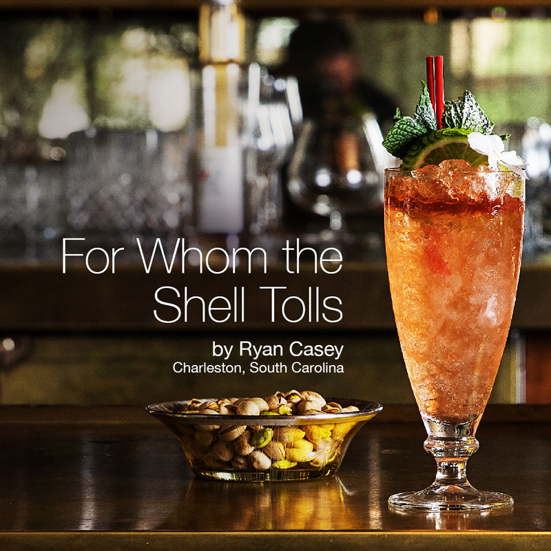Holiday Cocktails - For Whom The Shell Tolls