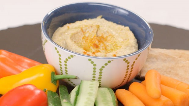 Light Pistachio Hummus