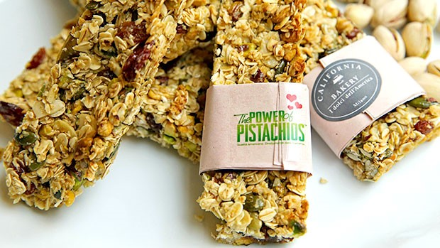 Power Pistachio Bars