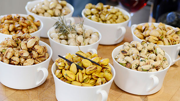 American Pistachios with Teriyaki and Dijon Mustard