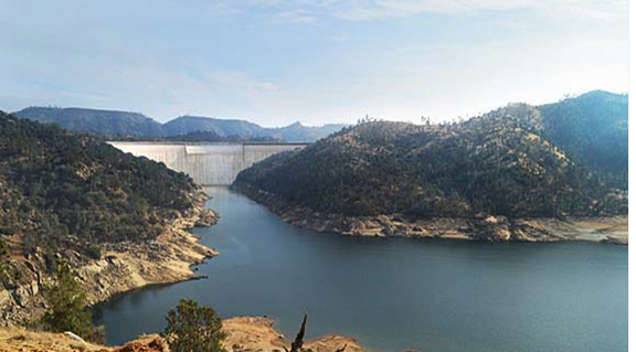 california dam news