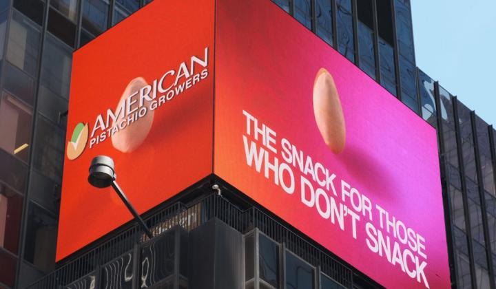 American Pistachios Hits It Big In Times Square, New York, New York!