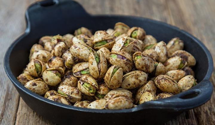 Creole Black Skillet Pistachios by Chef Tory McPhail
