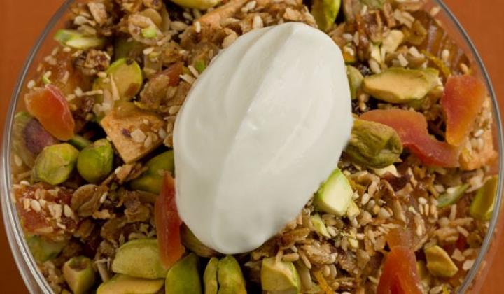 PISTACHIO ORANGE GRANOLA