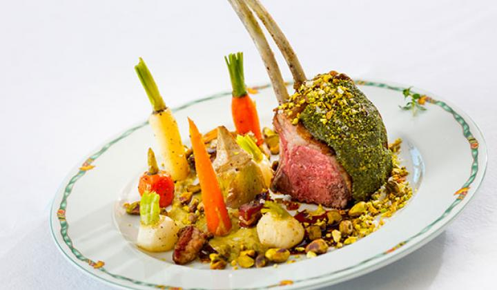 Pistachio Crust for Lamb or Fish